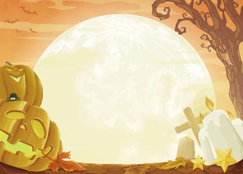 Halloween background vector 02