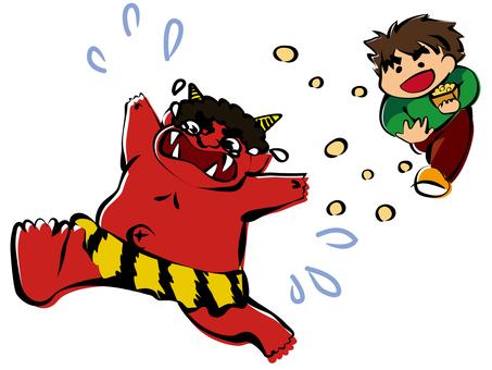 Setsubun's beanpowder