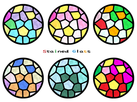 Stained glass (circle)