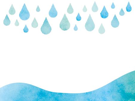 Rain Agate frame