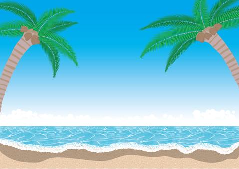 南国の海のイメージ1