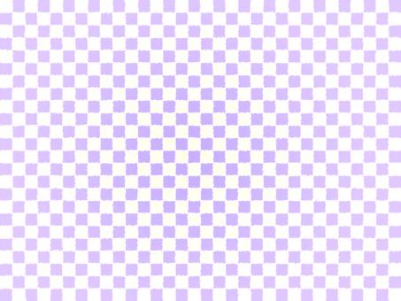 수채화 체크 무늬 보라색
