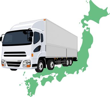 Track Japan Map Logistics