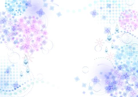 Rainy season image material 20