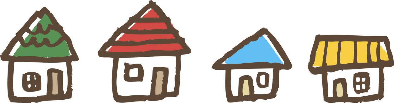 Various homes