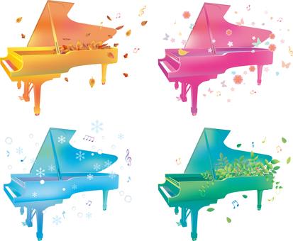 Season and piano