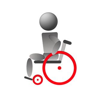 Wheelchair self-propelled side slow speed