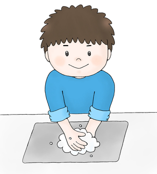 Boy (hand washing)