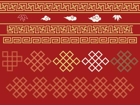 Pattern - Chinese pattern - Pori character set