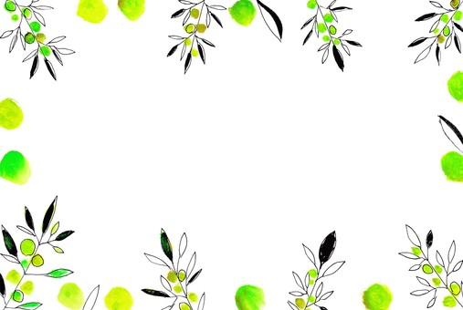 Olive frame