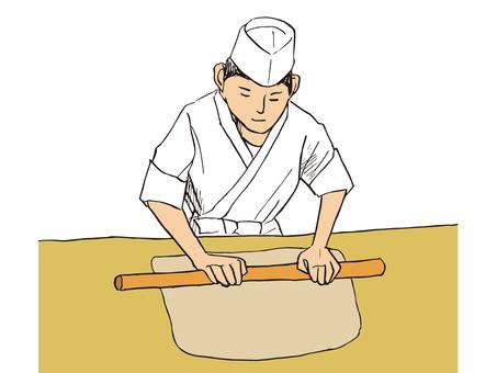 Soba Noodle maker 02