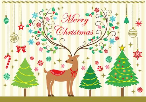 Reindeer card material 2