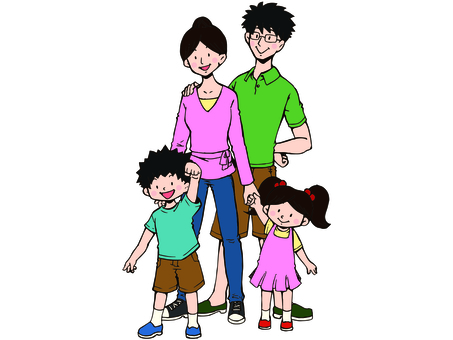 Family Illustration 03