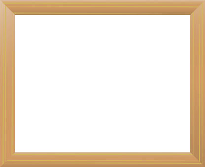Wooden frame (sideways)