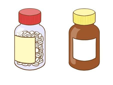 2種藥用瓶