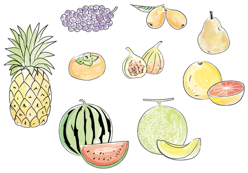 Rough fruit 2