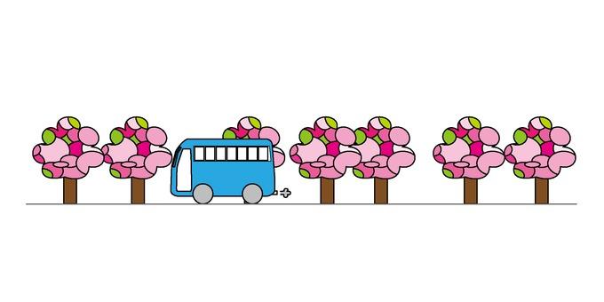 春のバスツアー