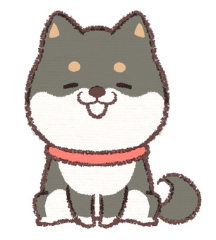 Kuro Shiba狗微笑