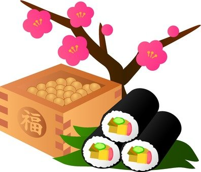 Plum Blossoms and Setsubun