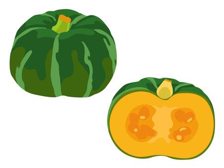 Ingredients _ Vegetable _ Pumpkin _ No Line