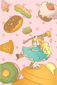 Alice and sweets