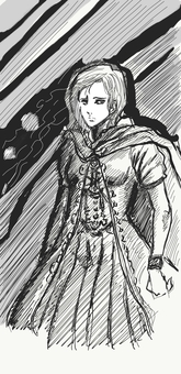 Fantasy character sketch