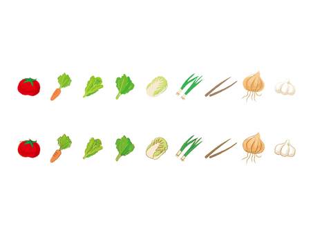 Japanese style vegetables