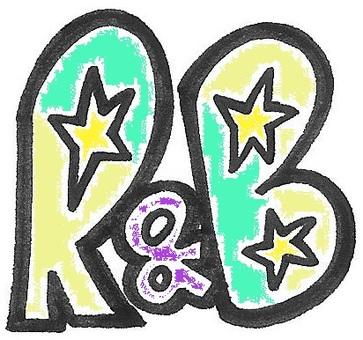 R & B Aloor Annoty Logo Green