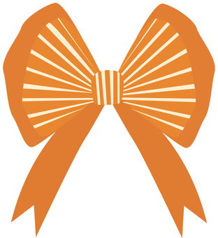 Ribbon one point decoration