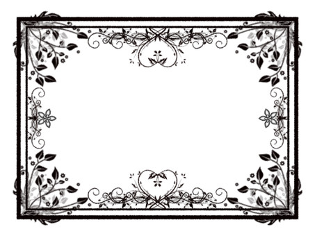 Brand-new style frame No background Heart