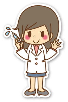 【Seal】 Female * Doctor (whole body) _ Injection