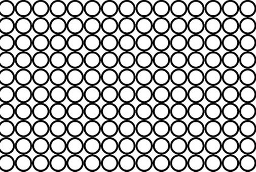 Simple background material of small black circle
