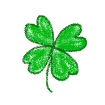 Four-leaf clover illustration