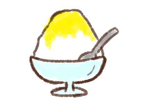 Crayon Series [Pattered Ice / Lemon]