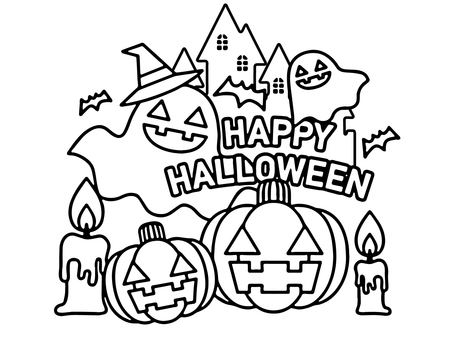 Halloween Coloring 2