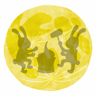Moon view / rabbit