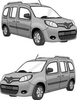 Car monochrome