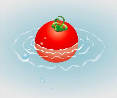 Cool feeling tomato