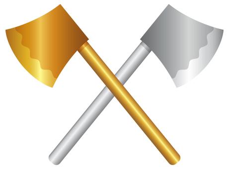 Ax_gold ax silver ax