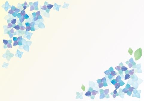Watercolor hydrangea 6