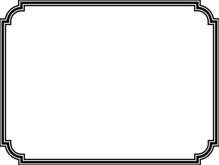 Border frame 3