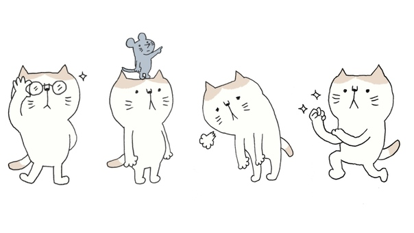 Cat pattern set 2