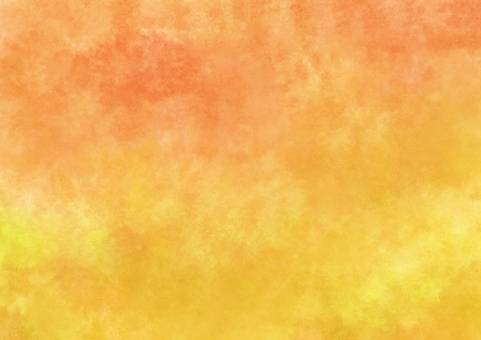 Orange and astringent yellow watercolor wallpaper · A4 Novice