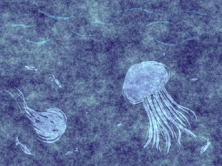 바다의 해파리