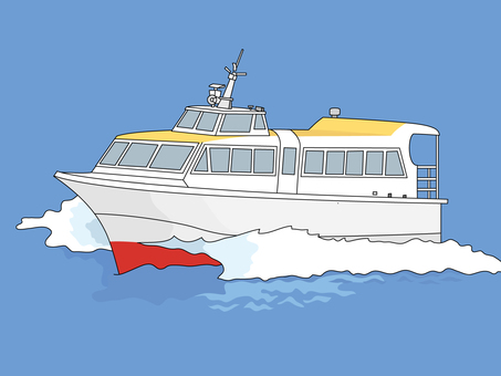 Small passenger boat 4