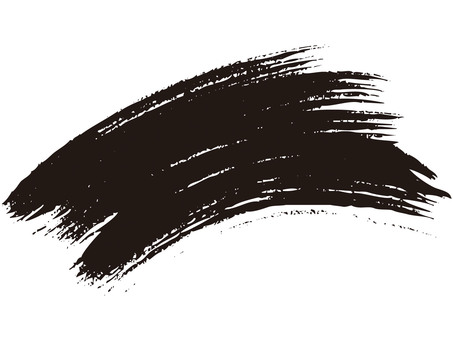 Brush line (curve · ink)