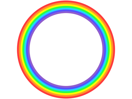 Rainbow ring (large)