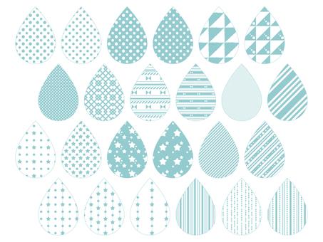 Pattern 1 (blue)