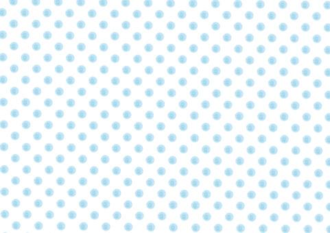 Watercolor polka dots pattern swatch seamless