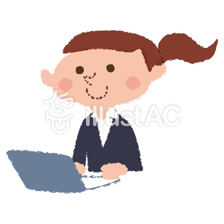 働く女性イラスト No 1237840無料イラストならイラストac